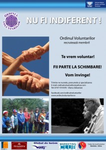 poster Ordinul Voluntarilor